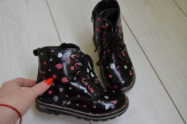 Ботинки лаковие на девочку
