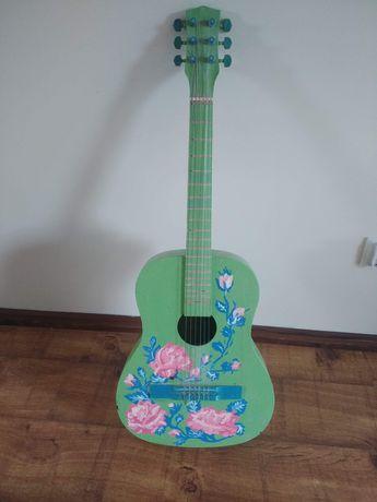 Gitara ozdoba ręcznie malowana