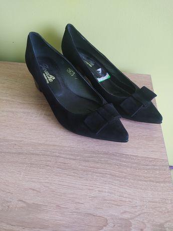 Туфлі замшеві 38р.