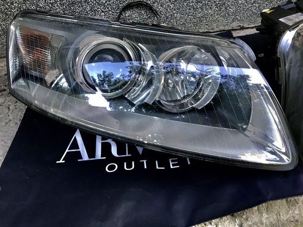 Фары Audi-Ауди A6c6