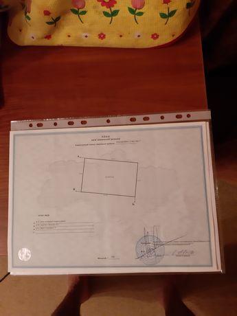 Продається земельна ділянка 10 соток з цокольним поверхом і проектом