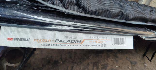 Продам фидерное удилище siweida paladin
