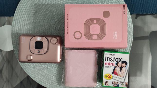 Aparat Fujifilm Instax mini LiPlay (Blush Gold) + 20 wkładów