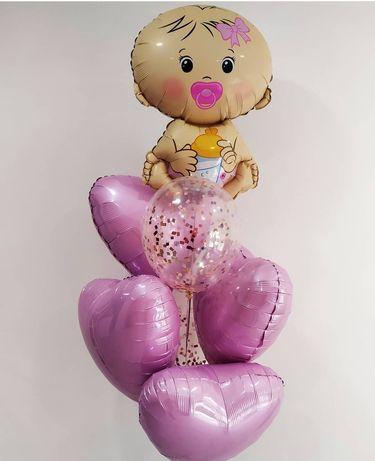 Шары на выписку, гелиевые шары, доставка шаров, воздушные шарики