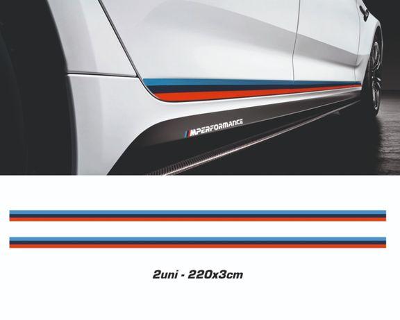 Fitas vinil p/ portas BMW ///M Performance