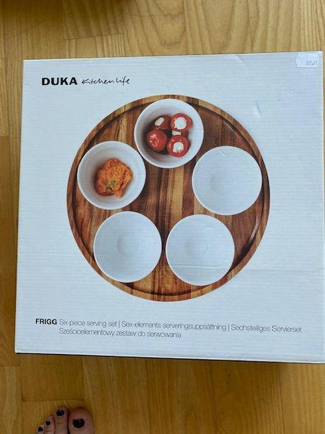 Sześcioelementowy zestaw do serwowania Duka