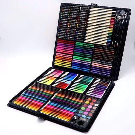 ОГРОМНЫЙ НАБОР для рисования и творчества Art set на 258