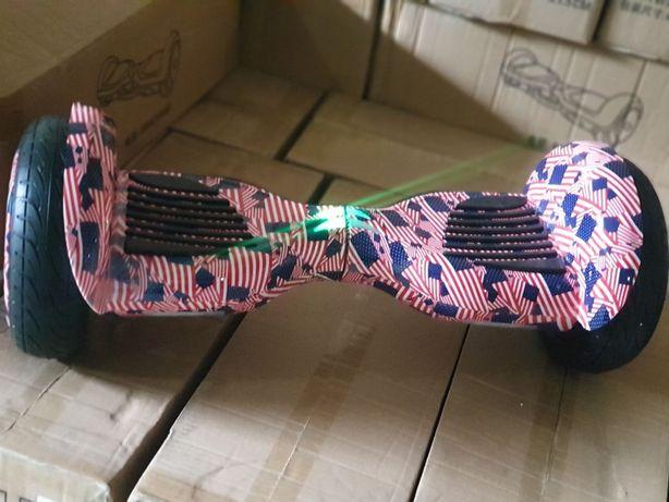 Гироборд 10.5 д. Бренд Джилонг (Jilong)цвет Америка.