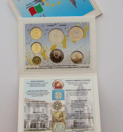 Carteira anual Portugal 1992 BNC