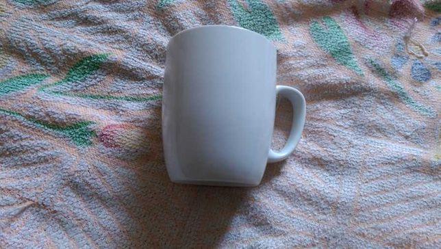 Чашка (кружка) біла фарфор (350мл)