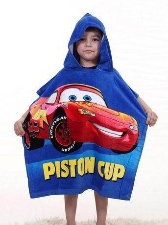Пляжное детское полотенце пончо.Детское пончо.Детское полотенце