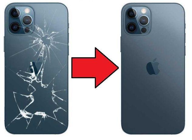 Tylna klapka plecki iPhone 12 / 12 mini / 12 PRO / 12 MAX  z wymianą