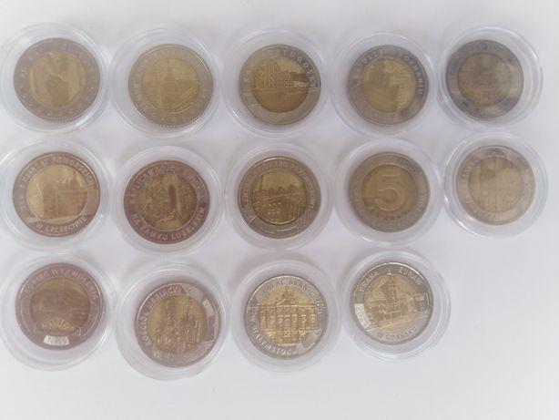 Komplet monet 5zł