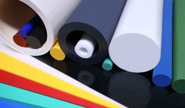 Varão de PVC, Nylon, Poliacetal, Polietileno, Polipropileno