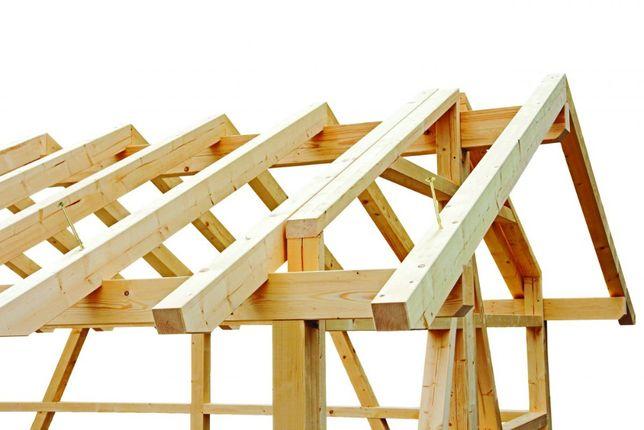 wieżba dachowa deska budowlana