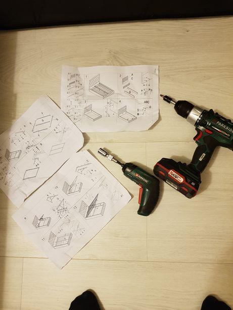 Składanie skręcanie, montaż mebli, wymiana baterii, drobne pracę