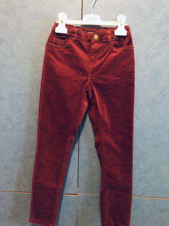 Вільветові штани фірми Kiabi на хлопчика 9р 132-137см