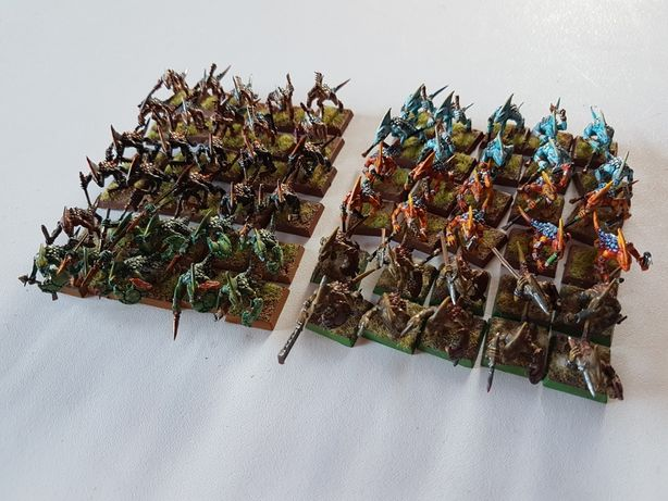 10xSkink Lizardman Warhammer FB