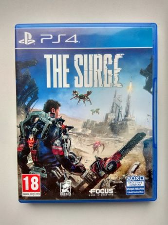 The Surge (Blu-ray, Russian subtitles). Диск для PS4