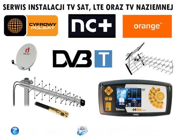 ANTENA SATELITARNA Inverto 120CM FULL HD Montaz ust. anten biłgoraj