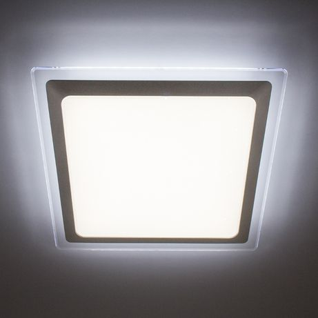 Накладной светильник LED светодиодный потолочный ALS 18W 5000К (Серый)