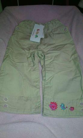 spodnie 5-10-15 rozmiar 86 nowe