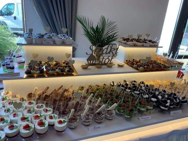 Słodki stół - Candy bar