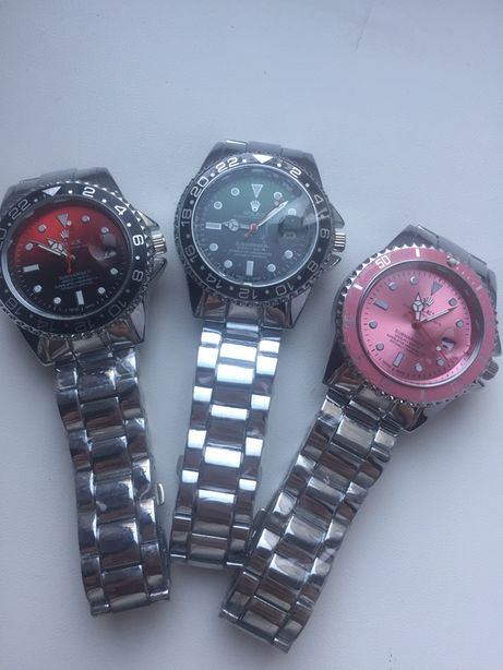 Zegarek rolex logowany