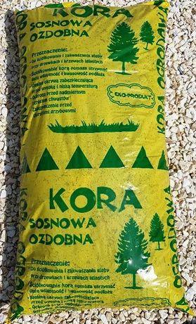 Kora sosnowa / dekoracyjna / workowana - TRANSPORT