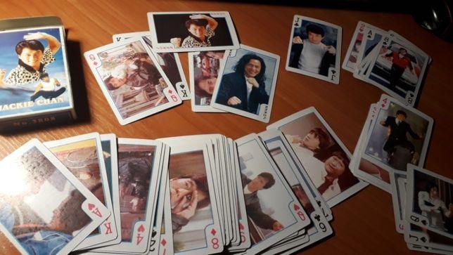 Карты игральные, подарок,сувенирные, Джеки Чан