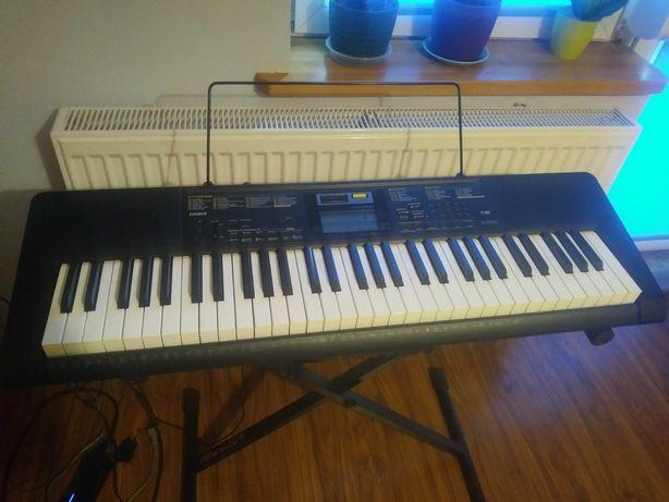 Keyboard CASIO ze słuchawkami