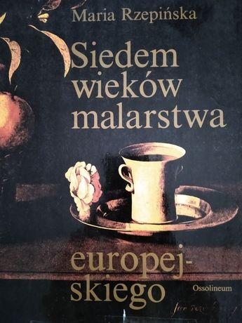 Siedem wiekow malarstwa europejskiego ksiazka