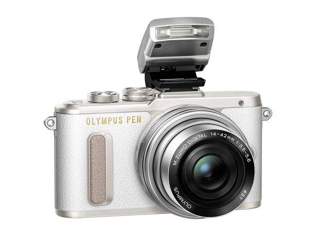 NOWY Olympus PEN E-PL8 + 14-42 II R 16MPix FullHD