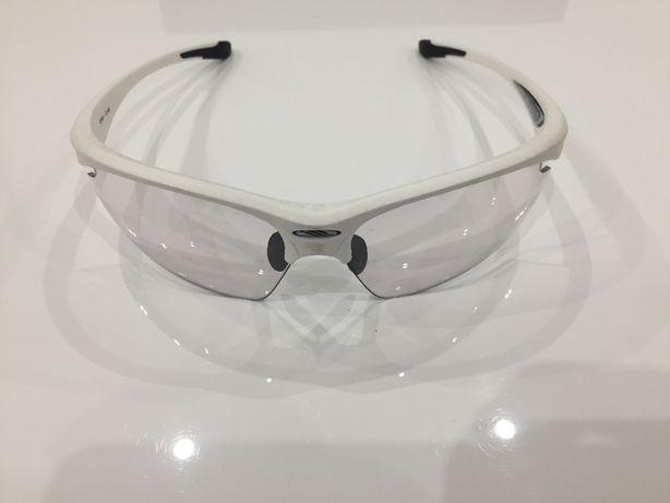 Nowe oryginalne okulary RUDY PROJECT Stratofly, biały mat i struktura.