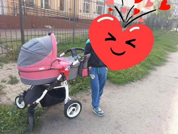 Дитяча коляска Adbor Zipp+стільчик для годування в подарунок