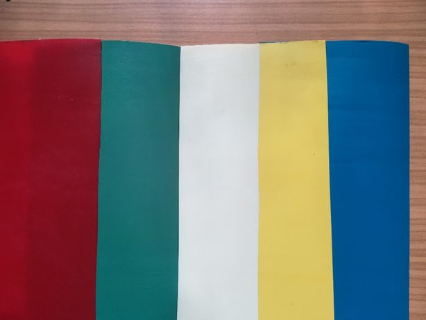 Twarda folia PVC ( PCV PCW ) kolorowa gr. 0,2mm 1mb