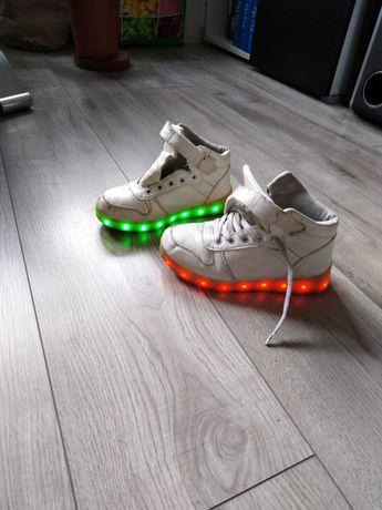 Buty świecące dziecięce.