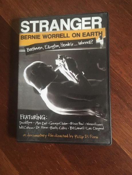 Stranger: Bernie Worrell On Earth Funkadelic dvd FUNK David Byrne