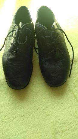 Туфли для танцев. Кожаные. Целые. Размер 22 по стелки