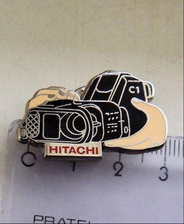 odznaka Hitachi logo herb optyka