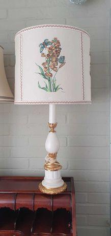 Marmurowa lampka lampa nocna