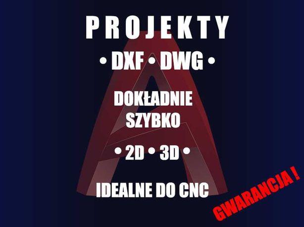 • Projekty • DXF • DWG • CAD • CNC •