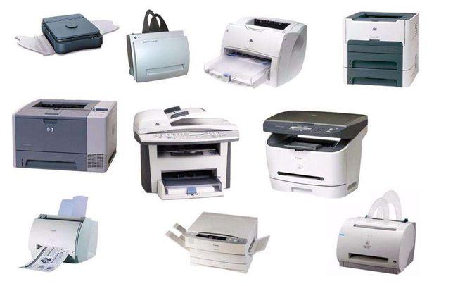 Ремонт, прошивка принтеров и МФУ. Заправка картриджей.