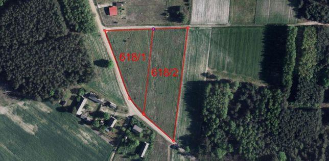 Działka 3979 m² Luszawa, gmina Ostrówek