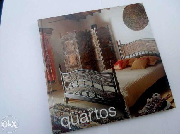 Conjunto de 4 Livros de decoração: Quartos, Salas, cozinhas e casas de