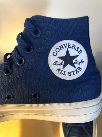 Converse all star granatowe