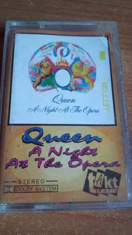 Queen ‎– A Night At The Opera, 1991 , KASETA MAGNETOFONOWA