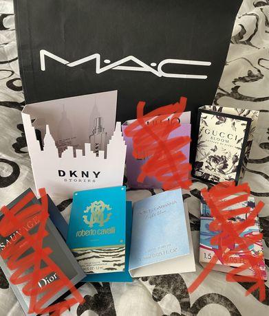 Nowe próbki perfum Gucci DKNY Dior Dolce Gabbana Roberto Cavall