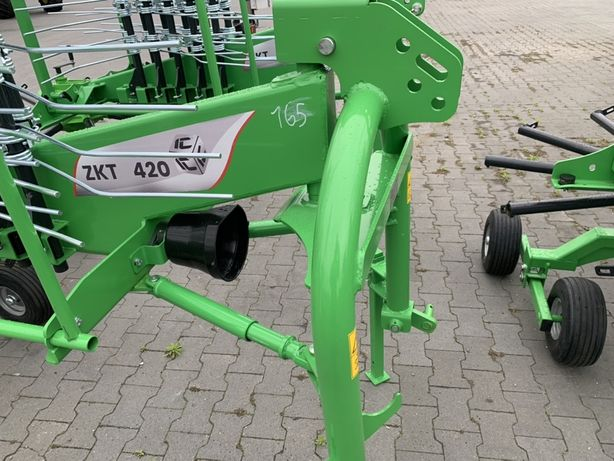 Zgrabiarka Inter-Tech ZKT420 4.2m mocna tandem nie pottinger lelly deu