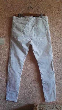 Белые джинсы мужские slim h&m